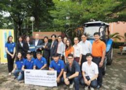 New Holland donates TT55 tractor to KMITL in Thailand
