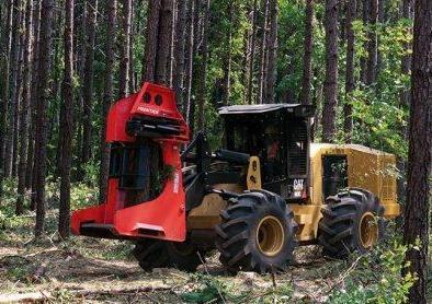 Caterpillar Forest Products is introducing the new Series II track feller buncher