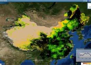 Chinas_Water_Productivity_Score_calculated_by_eLEAF_and_mapped_with_ArcGIS