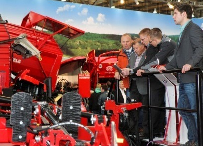 Agritechnica 2011 recorded the highest number of trade and agriculture professional visitors the show has seen